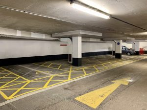 disabled parking spaces added